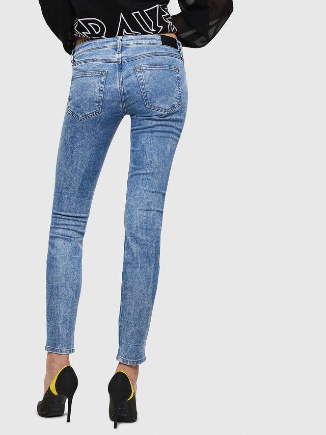 Diesel - Gracey JoggJeans 0870P, Blu Chiaro - Jeans - Image 2