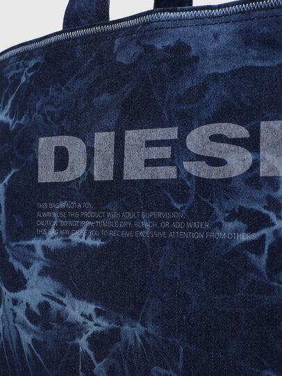 Diesel - D-THISBAG SHOP M, Blu - Shopper e Borse a Spalla - Image 5