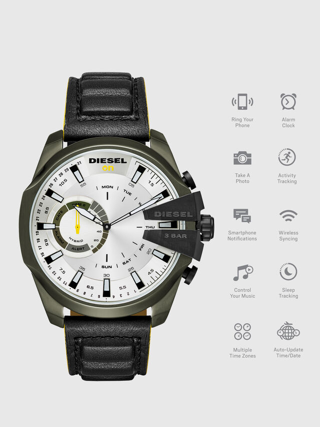 Diesel - DT1012, Nero - Smartwatches - Image 1