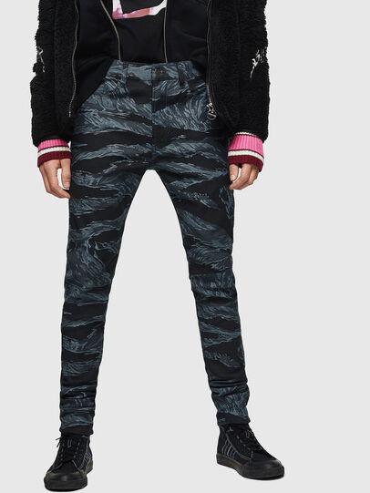 Diesel - D-Amny 0091R, Blu Scuro - Jeans - Image 1