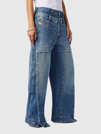 Diesel - D-Laly 0AFAM, Blu medio - Jeans - Image 7