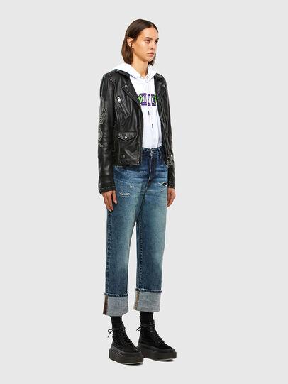 Diesel - D-Reggy 0079P, Blu Scuro - Jeans - Image 7
