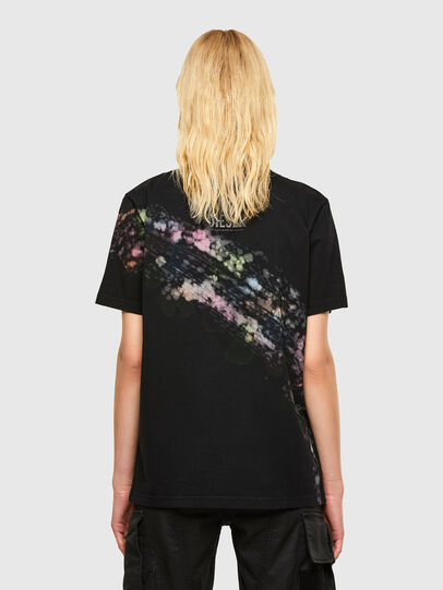 Diesel - T-JUST-A40, Nero - T-Shirts - Image 2