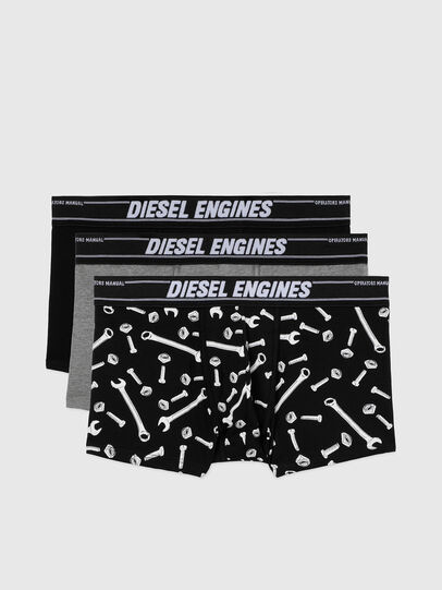 Diesel - UMBX-DAMIENTHREEPACK, Nero/Grigio - Boxer - Image 1
