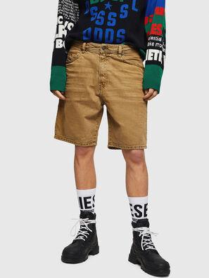 D-WILLOH, Marrone Chiaro - Shorts