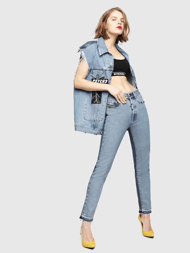 Diesel - Mharky 0077Z, Blu medio - Jeans - Image 8