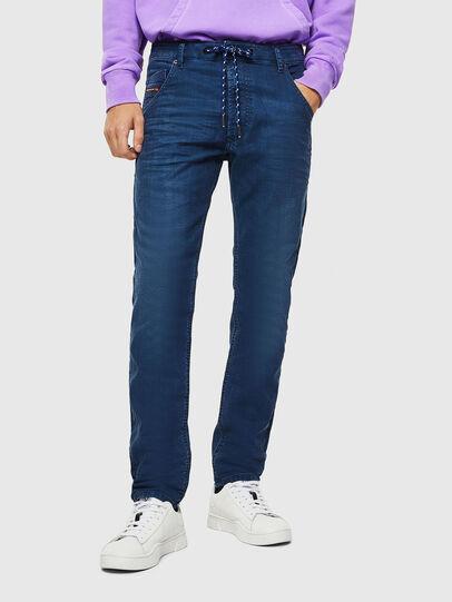 Diesel - Krooley JoggJeans 0098H, Blu medio - Jeans - Image 1