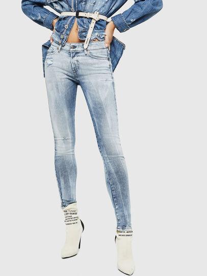 Diesel - Slandy 083AR, Blu Chiaro - Jeans - Image 1