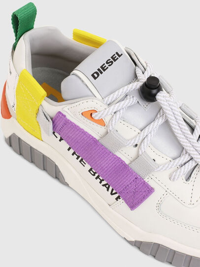 Diesel - S-RUA LOW SP W, Bianco - Sneakers - Image 4