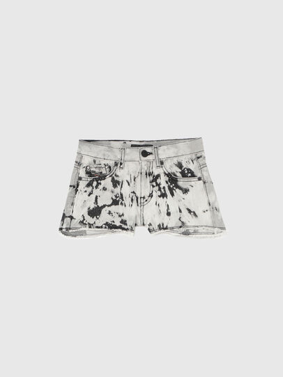 Diesel - PRIFTY, Bianco/Nero - Shorts - Image 1