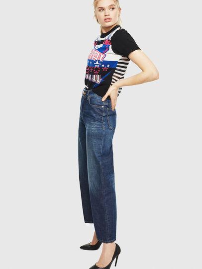 Diesel - Widee 0090W, Blu Scuro - Jeans - Image 6