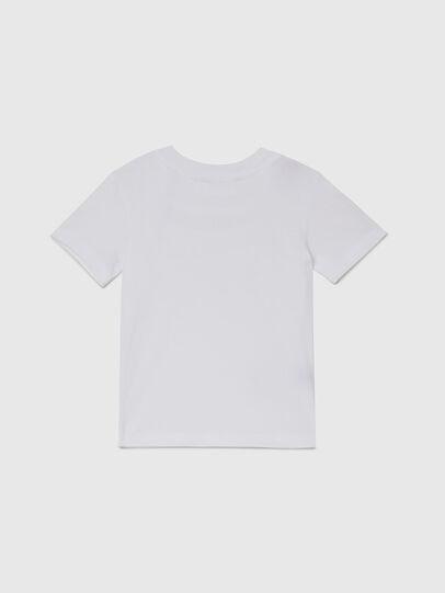 Diesel - TESSOB-R, Bianco - T-shirts e Tops - Image 2