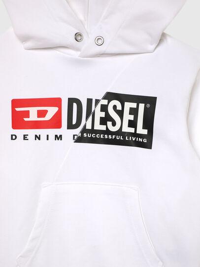 Diesel - SGIRKHOODCUTYX OVER, Bianco - Felpe - Image 3