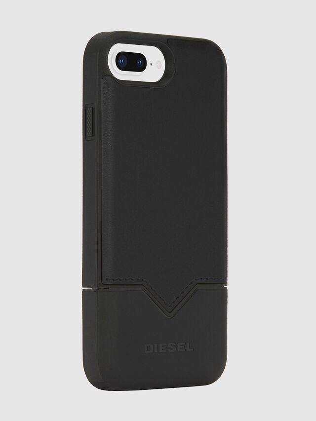 Diesel - CREDIT CARD IPHONE 8 PLUS/7 PLUS/6S PLUS/6 PLUS CASE, Nero - Cover - Image 4