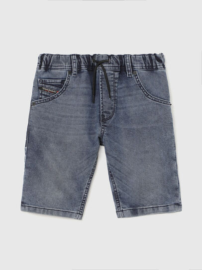 Diesel - KROOLEY-J SH JOGGJEANS, Blu medio - Shorts - Image 1