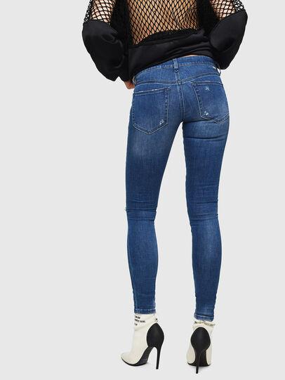 Diesel - Slandy Low 089AI, Blu medio - Jeans - Image 2
