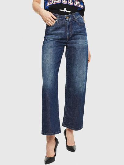 Diesel - Widee 0090W, Blu Scuro - Jeans - Image 1