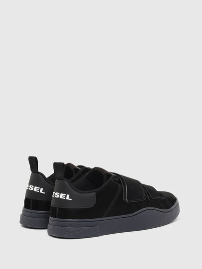 Diesel - S-CLEVER LOW STRAP W, Nero - Sneakers - Image 3