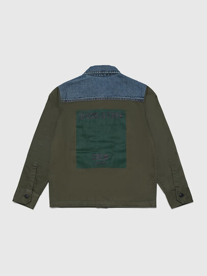 Diesel - COWALT, Verde Militare - Camicie - Image 2