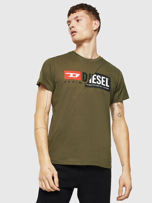 T-DIEGO-CUTY, Verde Militare - T-Shirts