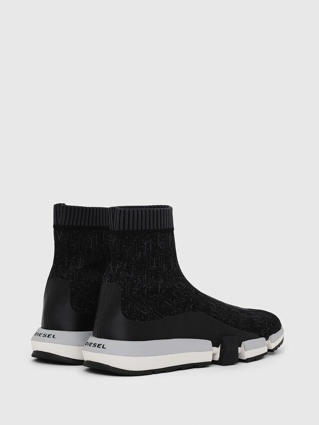 Diesel - H-PADOLA MID SOCK, Nero - Sneakers - Image 3