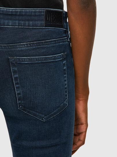 Diesel - Slandy Low 009QF, Blu Scuro - Jeans - Image 3