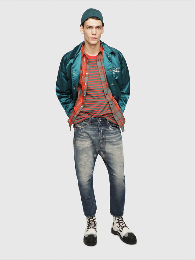 Diesel - Narrot 088AQ, Blu Scuro - Jeans - Image 4