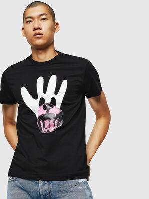 T-DIEGO-B18, Nero - T-Shirts