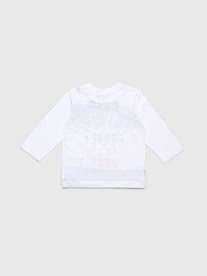 Diesel - TOLIB, Bianco/Blu - T-shirts e Tops - Image 2