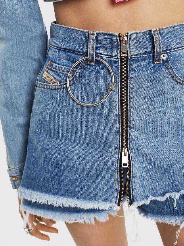 Diesel - DE-LARZY, Blu Jeans - Shorts - Image 3