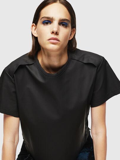 Diesel - T-DARYL, Nero - T-Shirts - Image 4