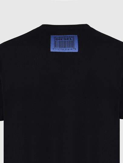 Diesel - T-DIEGOS-X70, Nero - T-Shirts - Image 4