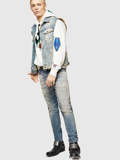 Diesel - D-Vider 084AQ, Blu Chiaro - Jeans - Image 6