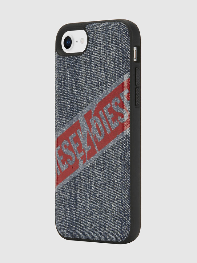 Diesel - VINTAGE DENIM IPHONE 8/7/6S/6 CASE, Blu Jeans - Cover - Image 5