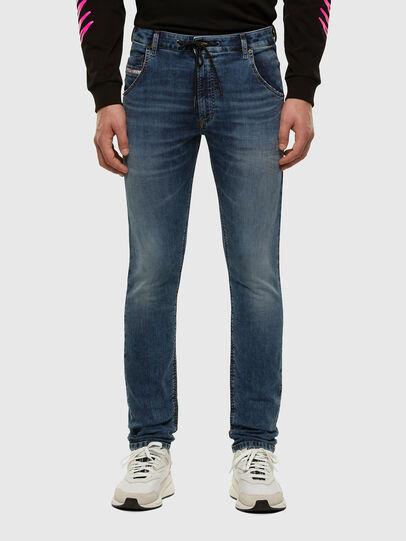 Diesel - KROOLEY JoggJeans® 069NL, Blu medio - Jeans - Image 1