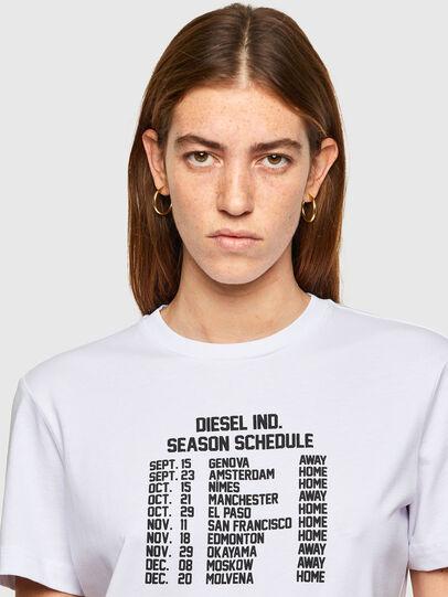 Diesel - T-DIEGOS-A11, Bianco - T-Shirts - Image 3