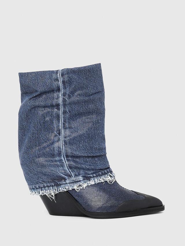 Diesel - D-WEST MB, Blu Jeans - Stivaletti - Image 1