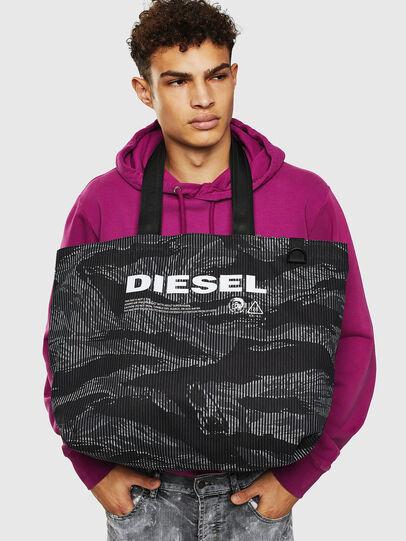 Diesel - D-THISBAG SHOP M, Nero - Shopper e Borse a Spalla - Image 8