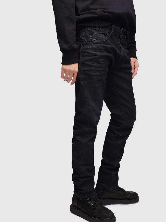 Diesel - Thommer 087AU, Blu Scuro - Jeans - Image 3