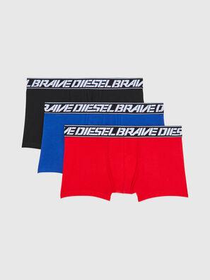 UMBX-DAMIENTHREEPACK, Rosso/Blu - Boxer stretch