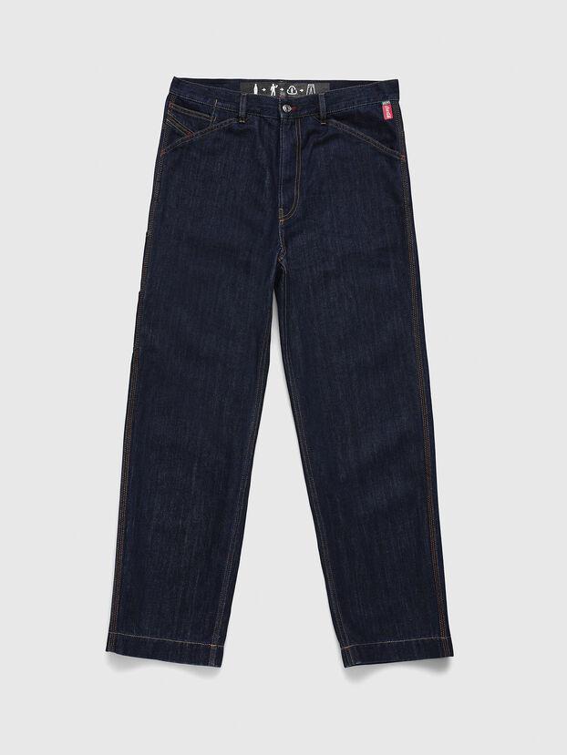 CC-D-FRANK, Blu Scuro - Pantaloni