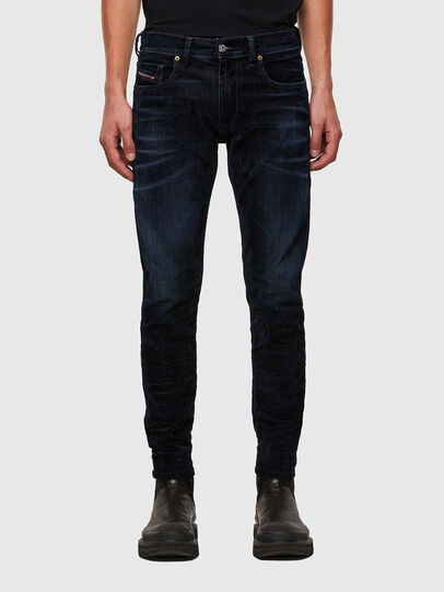 Diesel - D-Strukt 0091U, Blu Scuro - Jeans - Image 1
