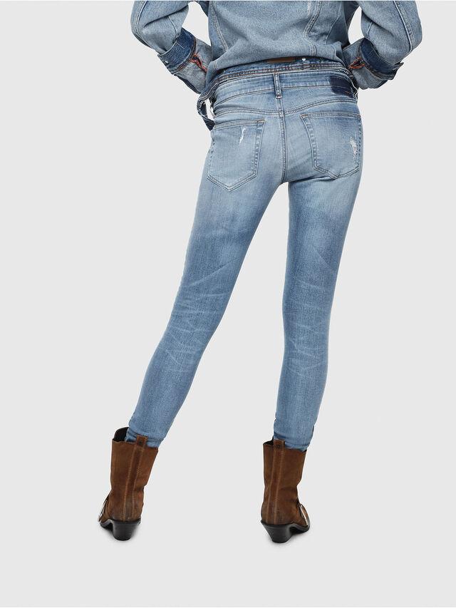 Diesel - Slandy Low 086AH, Blu Chiaro - Jeans - Image 2