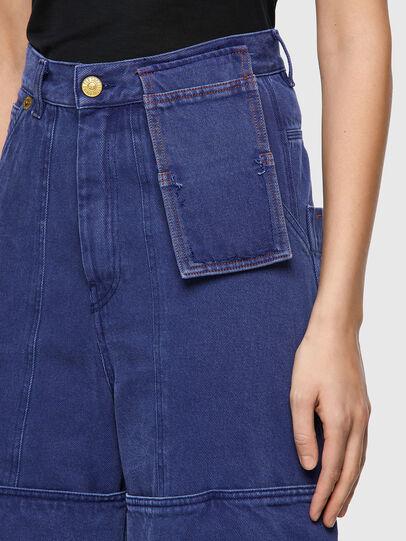 Diesel - D-Luite 0EEAX, Blu medio - Jeans - Image 5