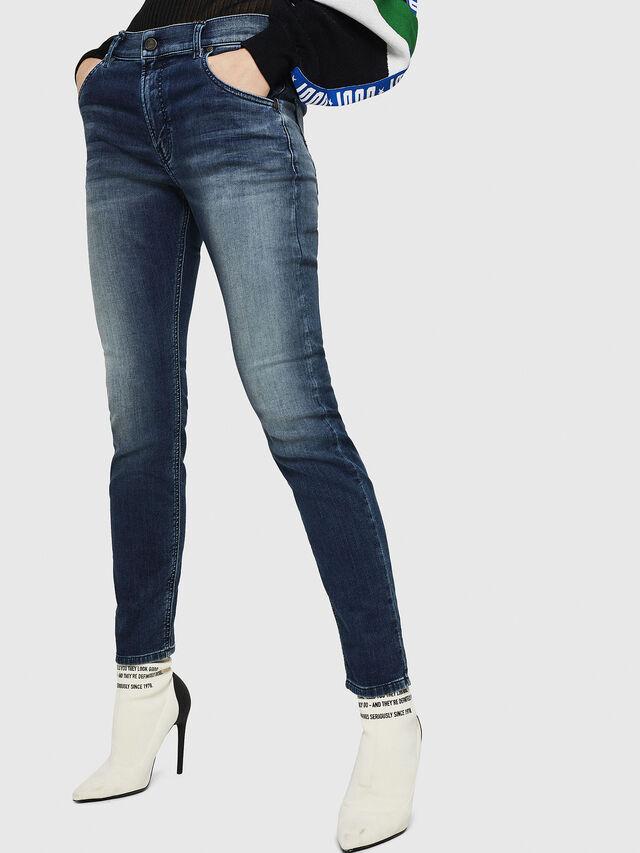 Diesel - Krailey JoggJeans 069HF, Blu Scuro - Jeans - Image 1