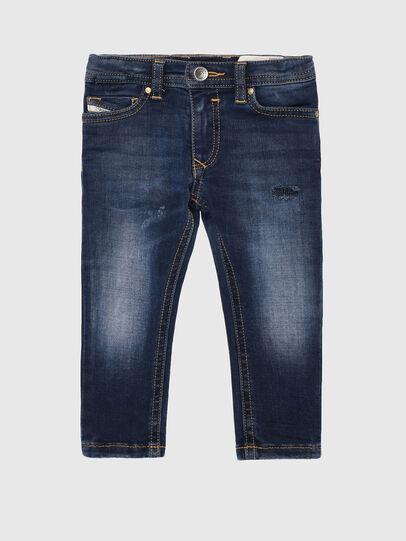 Diesel - SLEENKER-B-N, Blu medio - Jeans - Image 1