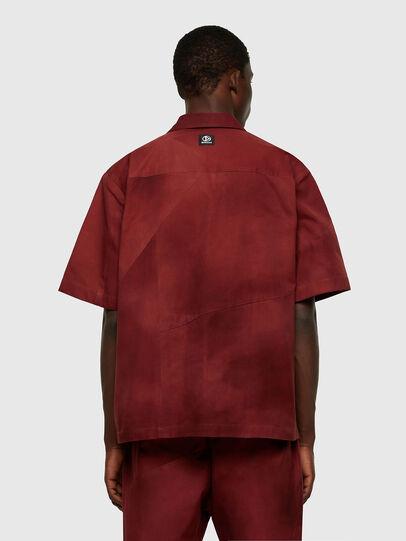 Diesel - S-GUNN-TIE, Rosso - Camicie - Image 2