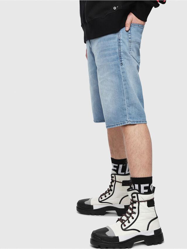 Diesel THOSHORT, Blu Chiaro - Shorts - Image 3
