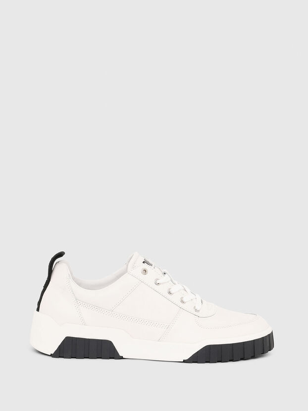 S-RUA LOW, Bianco - Sneakers