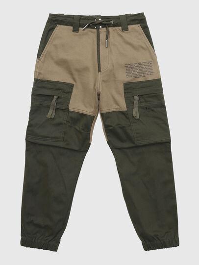 Diesel - PLUKK, Verde Militare - Pantaloni - Image 1